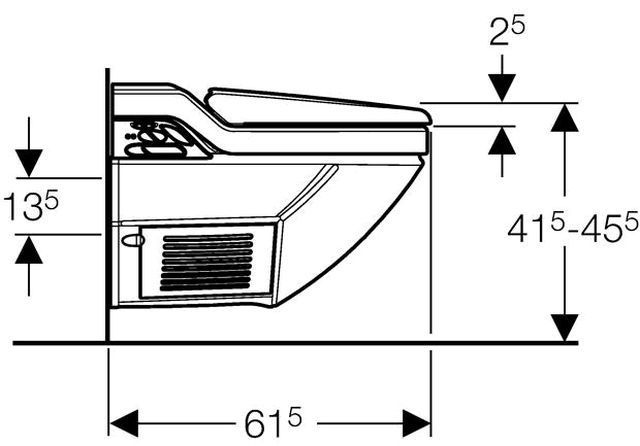 geberit aquaclean 8000 weiss alpin 146182111. Black Bedroom Furniture Sets. Home Design Ideas