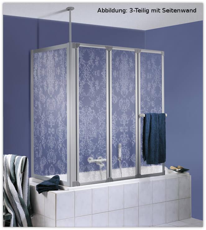 badewannenaufsatz prima 3 teilig hsk opt seitenwand. Black Bedroom Furniture Sets. Home Design Ideas