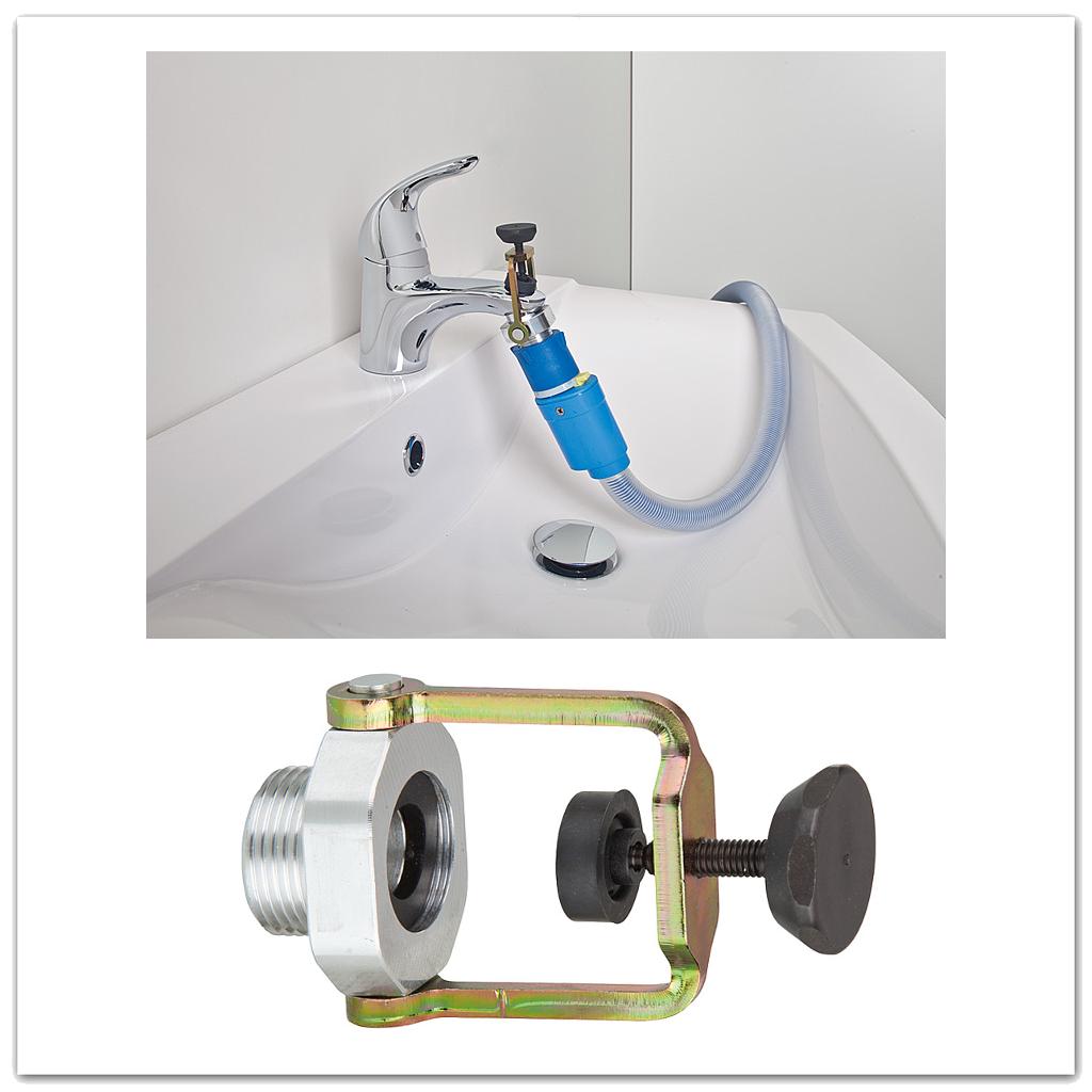 Neu Wasserhahn Adapter Klemm-Blitz | Schnellkupplungssystem ML78