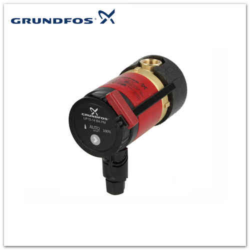 Grundfos Zirkulationsp. UP 15-14 BA PM DE Comfort, 97989267