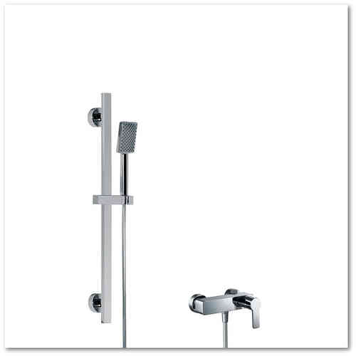 HSK Shower-Set 2.01 Softcube, chrom, 1000201