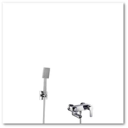 HSK Shower-Set  2.09 Wanne Softcube, chrom, 1000209